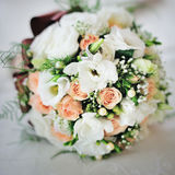 Amazing wedding bouquet, happy day Stock Photos