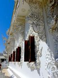 Amazing White Temple of Chiang Mai Stock Image