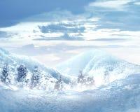 Amazing winter landscape Royalty Free Stock Photo