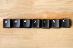 Amazing word Stock Photo