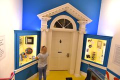 Spriengfield massachusetts usa dr seuss museum. The Amazing World of Dr .Seuss Museum is one of the great attraction for visitors of Springfield , Massachusetts royalty free stock image