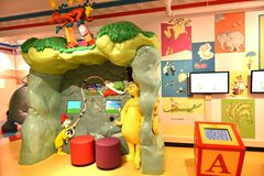 Spriengfield massachusetts usa dr seuss museum. The Amazing World of Dr .Seuss Museum is one of the great attraction for visitors of Springfield , Massachusetts royalty free stock images