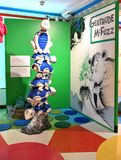 Spriengfield massachusetts usa dr seuss museum. The Amazing World of Dr .Seuss Museum is one of the great attraction for visitors of Springfield , Massachusetts royalty free stock photo