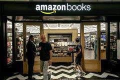 Amazon Books Stock Image