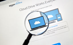 Amazon Cloud Drive Royaltyfria Foton