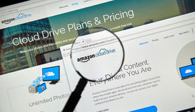 Amazon Cloud Drive Arkivfoto