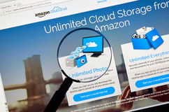 Amazon Cloud Drive Royaltyfri Fotografi