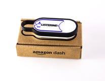 Amazon dash button royalty free stock image
