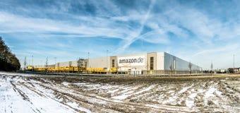 Amazon distribution center Stock Image
