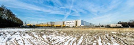 Amazon distribution center Stock Photography