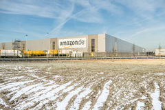Amazon distribution center Royalty Free Stock Images