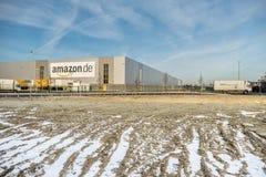 Amazon distribution center Stock Images