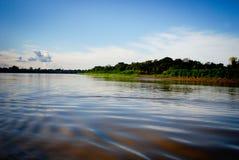 amazon flod arkivfoto