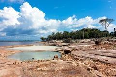 amazon flod Arkivfoton