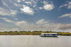 amazon flottörhus husflod Arkivbilder