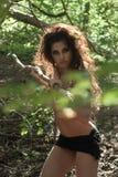 Amazon girl Royalty Free Stock Image