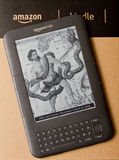 Amazon Kindle Stock Photos