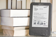 Amazon Kindle 3 Royalty Free Stock Photos
