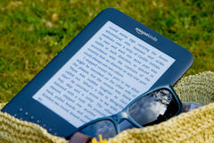 Free Amazon Kindle E-Reader Royalty Free Stock Photos - 19555098