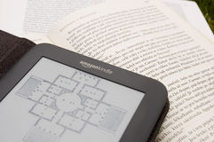 Amazon Kindle E-Reader Royalty Free Stock Photo