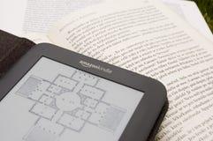 Amazon Kindle E-Reader royalty free stock photo