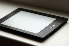 Amazon Kindle reader Stock Images