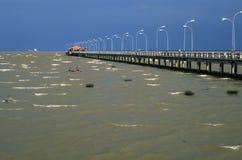 amazon landgångflod Royaltyfri Fotografi
