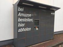 Amazon Locker location royalty free stock photos