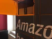 Amazon Locker location stock photography