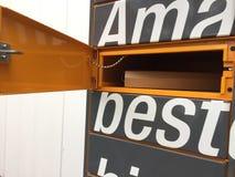 Amazon Locker location detail stock images