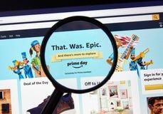Free Amazon Prime Day That Was Epic Page Stock Photos - 153483963