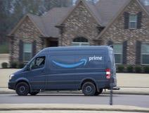 Amazon Prime-Lieferung lizenzfreie stockfotos