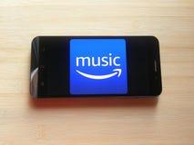 Amazon Prime-Musik App lizenzfreies stockfoto