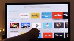 Amazon Prime Video and Arte TV app install on Apple TV 4k in living room