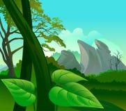 Amazon Rain Forest Flora and Fauna Royalty Free Stock Photos