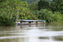 Amazon River Boat Royalty Free Stock Images