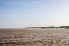 Amazon River Coast royalty free stock photography
