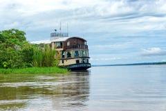 Amazon River Cruise Ship Royalty Free Stock Photography