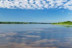 Amazon river landscape in Brazil Royalty Free Stock Photography
