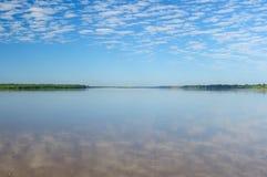 Amazon river landscape in Brazil Stock Photography