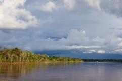 Amazon river landscape in Brazil Royalty Free Stock Photo