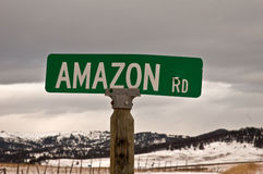 Amazon Road Royalty Free Stock Photo