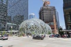 Amazon soleggiato con traffico Immagine Stock Libera da Diritti