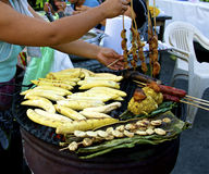 Amazon street food royalty free stock photography