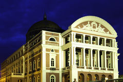 Amazon Theater in Manaus, Brazil Royalty Free Stock Images