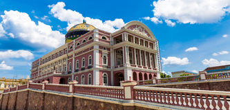 Amazon Theater in Manaus, Brazil Stock Images