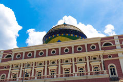 Amazon Theater in Manaus, Brazil Stock Photography