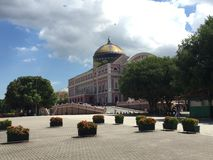 Amazon Theatre in Manaus Royalty Free Stock Images