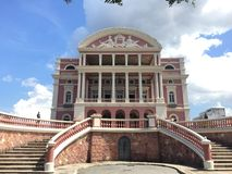 Amazon Theatre in Manaus Royalty Free Stock Photography