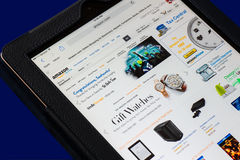 Amazon Web Page Royalty Free Stock Photos